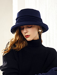 cheap -Polyester Hats with Ruche 1pc Casual / Daily Wear Headpiece