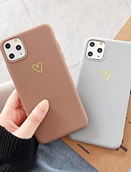 cheap -Case With Screen Protector For Apple iPhone 11 / iPhone 11 Pro / iPhone 11 Pro Max Dustproof Back Cover Heart TPU for iPhone 7 / 7 P / 8 / 8 P/ 6 /6 Plus / X/XS/XR/XS MAX