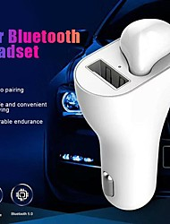 cheap -Car Charger USB Charger Universal Qi 1 USB Port 2.1 A DC 5V for iPhone X / iPhone 8 Plus / iPhone 8