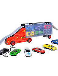 cheap -Toy Car Transporter Truck Special Designed Adorable Simulation Alumnium Alloy Kids Preschool All Boys and Girls Toy Gift