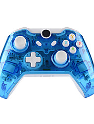 cheap -GH8151   XBOX ONE Controller  Wireless headset for Microsoft Xbox ONE Console & PC Windows7/8/10 - Transparent shell  Key improvement  Three mode Dazzling LED(Penetrating blue)