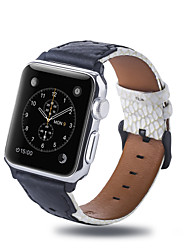 cheap -Watch Band for Apple Watch Series 5 / Apple Watch Series 4 / Apple Watch Series 3 Apple Business Band Quilted PU Leather Wrist Strap
