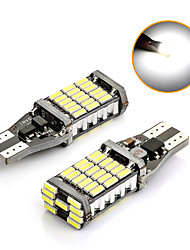 cheap -T15 Super Bright 45 SMD 4014 LED CANBUS NO ERROR Car Tail Bulb Brake Lights Auto Backup Reverse Lamp Dome Light Xenon White 2pcs