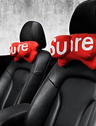 cheap -Automobile Head Pillow Neck Pillow Twin Head Pillow Car Seat Personality Neck Pillow