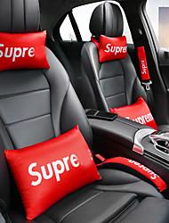 cheap -Car Headrest Set Four-season Car Neck Pillow Headrest For The Back Of The Car