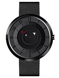 Недорогие -skmei 9174 спортивные часы из нержавеющей стали с водонепроницаемым креплением / с двумя часовыми поясами