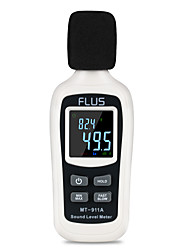cheap -MT-911A  Sound Level Meter Thermometer Digital Sound Level Meter Sonometros Noise Audio Level Meter Color LCD Display Decibels Meter