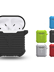 cheap -Heavy Duty Applicable Airpods Protective Cover Earphone Protection Non-Slip Silicone Storage Box Iphone Wireless Bluetooth Headset Storage Box 1Pc