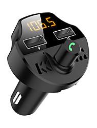 Недорогие -Автомобильное зарядное устройство / Быстрое зарядное устройство Зарядное устройство USB USB QC 3.0 2 USB порта 3.1 A DC 12V-24V для