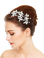 cheap -Other Material / Imitation Pearl / Alloy Hair Pin with Imitation Pearl 3 Pieces Wedding Headpiece
