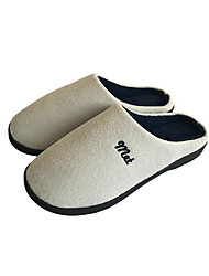 cheap -Women's Slippers / Men's Slippers House Slippers Casual Faux Suede Shoes