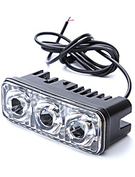 cheap -1pcs Motor Bicycle drl LED Work Spot Light 9W LED Motorcycle Driving Light 12V DC Headlight For Motorcycle Car Truck Boat