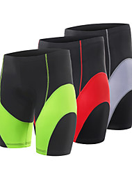 cheap -Arsuxeo Men's Cycling Padded Shorts Cycling Shorts Bike Shorts Pants / Trousers Bottoms Sports Polyester Spandex Winter Black / Red / Grey / Black / Green Mountain Bike MTB Clothing Apparel Race Fit