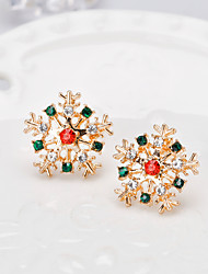 cheap -Women's Brooches 3D Flower Fashion Gold Plated Brooch Jewelry Rainbow For Christmas Gifts Wedding Party Dress Party & Evening New Year