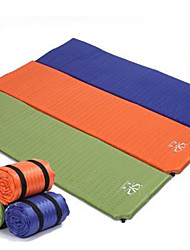 cheap -Inflatable Sleeping Pad Outdoor Camping Lightweight Moisture Breathability PVC / Vinyl 180*50*2.5 cm Camping / Hiking / Caving Picnic for 1 person Autumn / Fall Summer Orange Green Blue