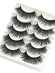 cheap -5 Pairs Mink Lashes Wholesale 3D False Eyelashes Thick Long Dramatic Eye Lashes Wispy Eyelashes Makeup Beauty Extension