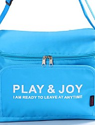 cheap -Portable Nylon Thermal Insulation Storage Bag Cooler Lunch Handbags for Car Outdoor Activities