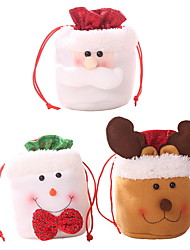 cheap -Christmas Ornaments Holiday Cotton Fabric Mini Cartoon Christmas Decoration