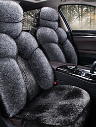 cheap -Shangxiang  Plush Car Cushion Winter Plush Cushion Warm Seat Cover  Seat Cover Compatible With Airbags 5 Seat Covers With