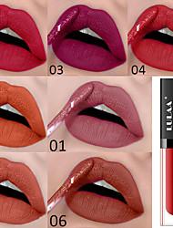 Недорогие -бренд lulaa сексуальная жидкая помада 8 цветов матовый блеск для губ глазурь водонепроницаемый прочный не выцветает