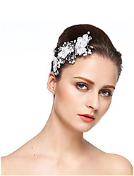 cheap -Imitation Pearl / Rhinestone Flowers with Rhinestone / Imitation Pearl 1 Piece Wedding Headpiece