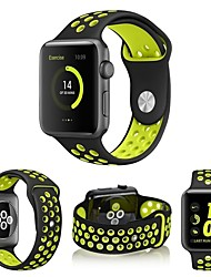 cheap -Watch Band for Apple Watch Series 5/4/3/2/1 Apple Sport Band Silicone Wrist Strap