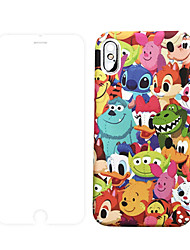 cheap -Case With Screen Protect For Apple iPhone 11 / iPhone 11 Pro / iPhone 11 Pro Max Dustproof / Frosted / Pattern Back Cover Cartoon PC for iPhone 7 / 7 P / 8 / 8 P/ 6 /6 Plus / X/XS/XR/XS MAX