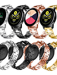 cheap -Jewelry Diamond Watch Band For Samsung Galaxy Watch Active 2 / Galaxy Watch 42mm / Gear S2 Classic / Gear Sport Replaceable Stainless Steel Bracelet Wrist Strap Wristband