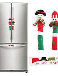 Недорогие -Ручка холодильника 3шт рождественские микроволновая печь посудомоечная машина дверная ручка крышка рождественские украшения для дома