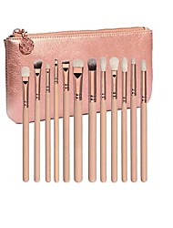 cheap -Professional Makeup Brushes 12pcs Full Coverage Lovely Travel Size Plastic for Eyeshadow Kit Eyeliner Brush Blush Brush Foundation Brush Lip Brush Lash Brush Eyebrow Brush