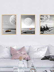 cheap -Framed Art Print Framed Set - Landscape Animals PS Poster Wall Art