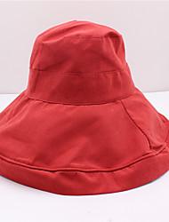 Недорогие -Хлопковая ткань Головные уборы с Волнообразный 1 шт. На каждый день / на открытом воздухе Заставка