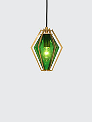 cheap -1-Light Light Luxury Restaurant Bar Contracted Creative Personality Art Glass Nordic Minimalist Diamond A Style Single Head Small Chandelier