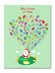 cheap -Christmas / Festival Party Accessories Canvas Print Patterned Canvas Christmas / Garden Theme / Classic Theme