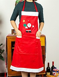 cheap -Both Men And Women Apron Household Hotel Restaurant Waiter Clothing Christmas Decorations