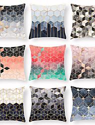 Недорогие -наволочка 45 * 45 геометрическая отделка чехла диван наволочка бытовая алмаз плед наволочка