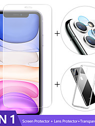 cheap -3-in-1 Case  Camera Glass For iphone 11 pro max Screen Protector Iphone 11 Lens Glass On iphone 11 pro max protective Glass