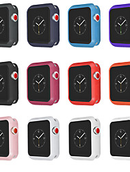 cheap -Cases For Apple Watch Series 3 / Apple Watch Series 2 / Apple Watch Series 1 TPU Compatibility Apple