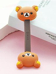 cheap -Brown Bear Small Size / Lovely Toy Shape Cable Cord Holder