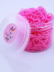 Недорогие -600pcs цвета радуги ткацкий станок моды ткацкий станок lominous диапазон (24pcs крюк, ассорти цветов)
