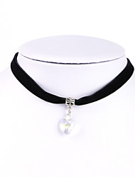 cheap -Lolita Choker Necklace Gothic Steampunk Halloween PU (Polyurethane) Alloy Necklace Masquerade For Masquerade Holiday Halloween Carnival Women's Costume Jewelry Fashion Jewelry