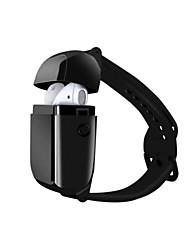Недорогие -Микроданные A01 часы браслет беспроводная гарнитура Bluetooth 5.0 TWS умные висячие наушники стереофония жизнь водонепроницаемый