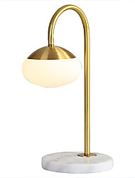 cheap -Table Lamp / Reading Light Contemporary / Traditional / Classic / Nordic Style For Office Metal 220V / 110V Gold