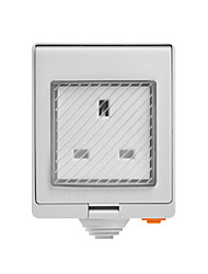cheap -SONOFF S55 TPF-DE Wi-Fi Waterproof Smart Socket - UK PLUG