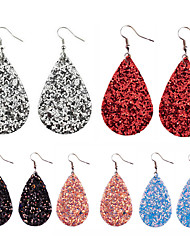 cheap -Women's Drop Earrings Earrings Classic Lucky Classic Fashion Cute Elegant Colorful Earrings Jewelry Black / Dark Fuchsia / Black / White For Gift Daily Holiday Club Festival 1 Pair