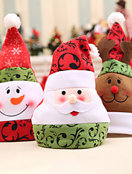 cheap -Merry Christmas Home Decorations Three-Dimensional Christmas Hats 3 Styles Happy New Year