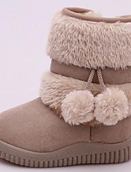 cheap -Girls' Snow Boots PU Boots Little Kids(4-7ys) Purple / Fuchsia / Pink Winter / Mid-Calf Boots
