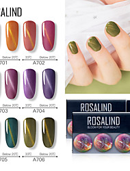 cheap -Nail Polish UV Gel  5 ml 12 pcs Color Changing / Stylish Soak off Long Lasting  Causal Color Changing / Stylish Fashionable Design / Colorful