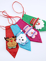 cheap -Children Adults Small Gifts Cute Cartoon Sequins Ties Men And Women Christmas Tie