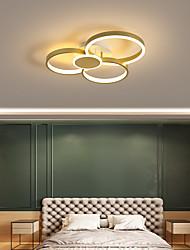 cheap -1-Light 45 cm Creative / Dimmable / LED Flush Mount Lights Aluminum Acrylic Circle / Geometrical / Novelty Painted Finishes LED / Nordic Style 110-120V / 220-240V / FCC